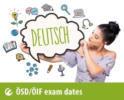 upcomming ÖSD and ÖIF exam dates