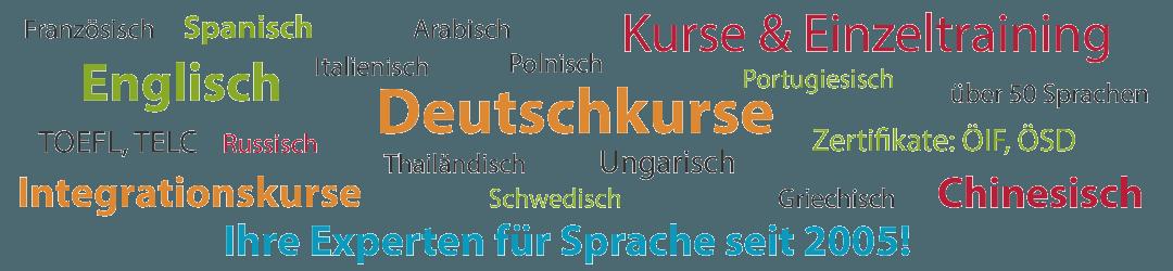 mehr als 50 Sprachen: Deutsch, Englisch, Spanisch, Französisch - Ihre Sprachschule